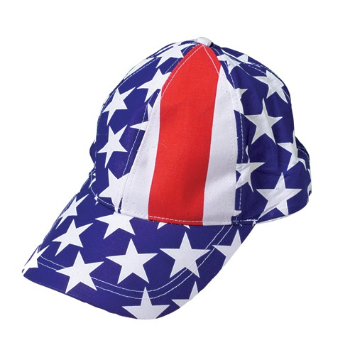 PATRIOTIC BASEBALL CAPS #H300