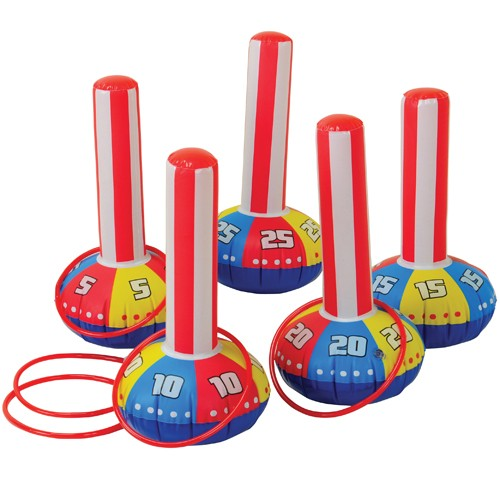 INFLATABLE RING TOSS GAME #IN395