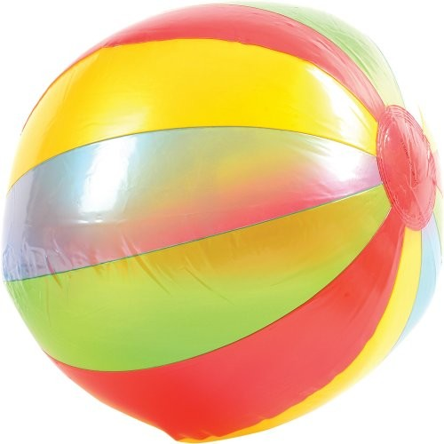 12 PANEL BEACH BALL / 9 INCH INFLATED #IN410