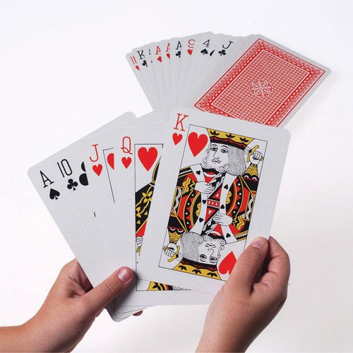 GIANT PLAYING CARDS #MU34