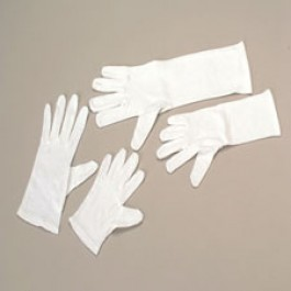 ELBOW LENGTH WHITE GLOVES/ADULT #OD403