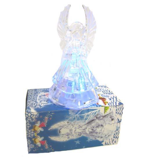 Pl. Light-Up Angel FIGURINE #WB9664