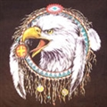 DREAM CATCHER EAGLE CLOTH WALL BANNER (Sold by the piece) #WH107