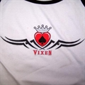 VIXEN CROWN LADIES TANK TOP TEE SHIRT (Sold by the piece) SIZE LARGE ONLY #WTT71